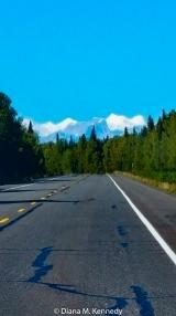 The Denali range was breathtaking!